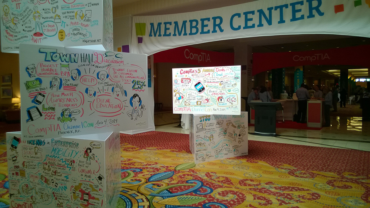 Member Center at CompTIA ChannelCon